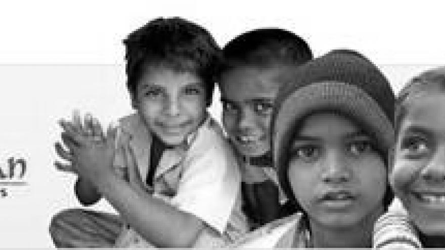 imagen de varios niños indios