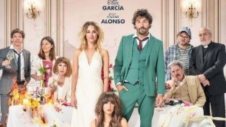imagen de boda de los protagonistas