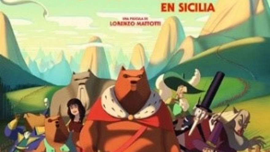 imagen en la que se ve a los osos en la portada de la película