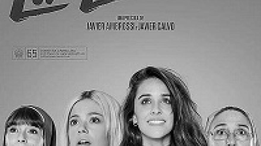 Cartel en el que salen las actrices de la película La Llamada