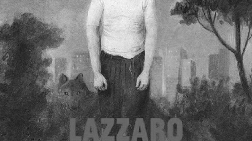 imagen del cartel de la película Lazzaro feliz en la que se ve a su protagonista