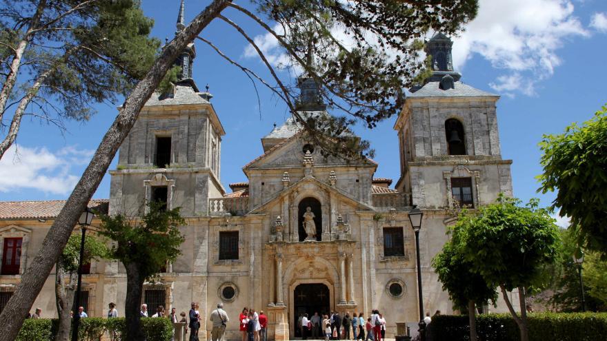 Fachada de la Iglesia de San Francisco Javier en Nuevo Baztán