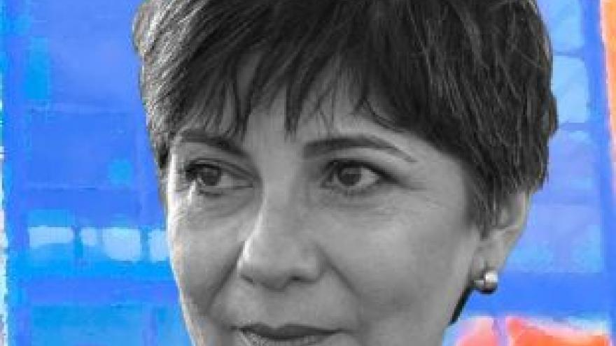 imagen de la cara de la poeta Silvia Castro Méndez