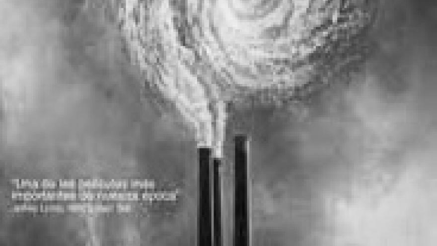 imagen en la que se ven una chimeneas con mucho humo