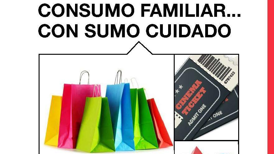 Cubierta folleto consumo familiar