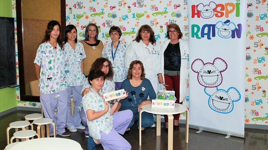 HGET Profesionales Pediatría y Asociación Hospi-ratón