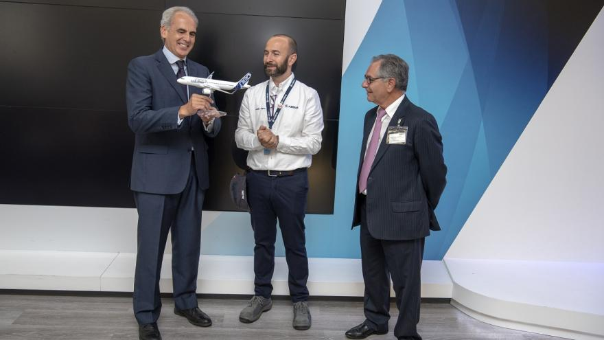 Consejeros de Sanidad, director de Airbus Getafe y gerente Hospital de Getafe
