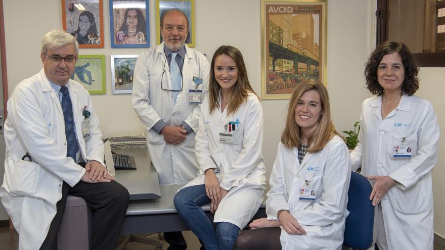 Profesionales de los servicios de Reumatología y Farmacia implicados en el proyecto.