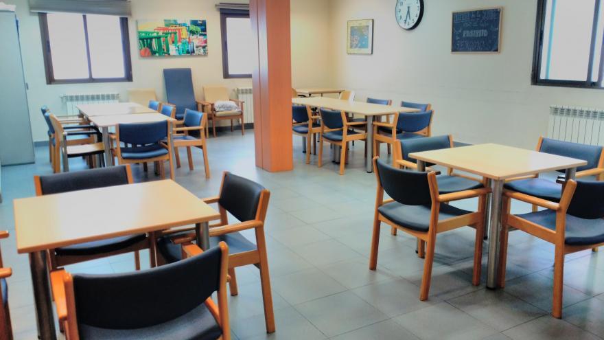 Sala centro de día mayores