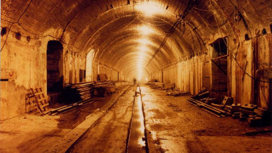 Túnel en ejecución