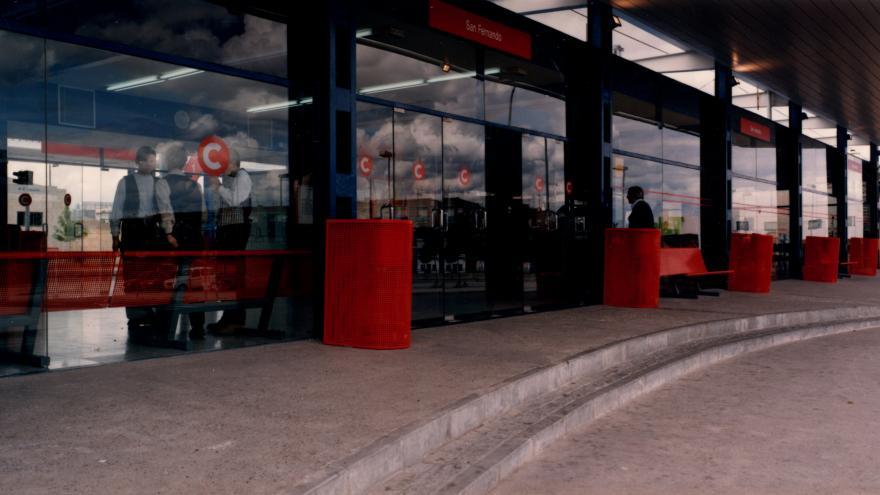 Acceso estación San Fernando