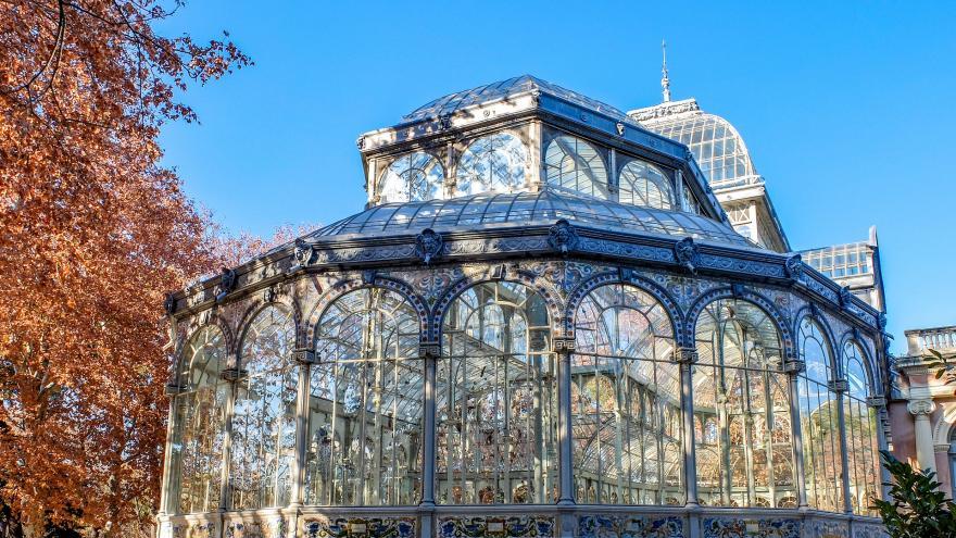 Palacio de Cristal.Madrid