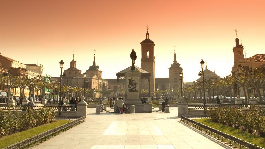 Plaza de Cervantes.Alcalá de Henares