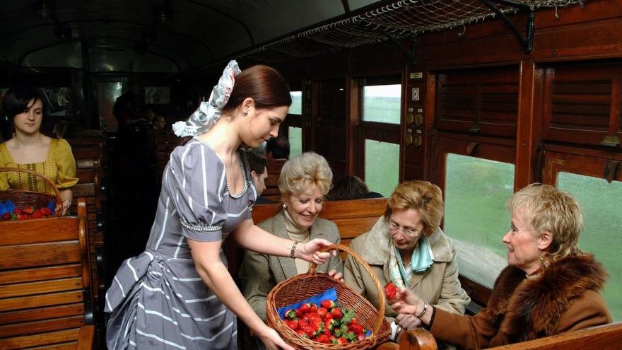 Tren de la Fresa. Foto de turismomadrid.es