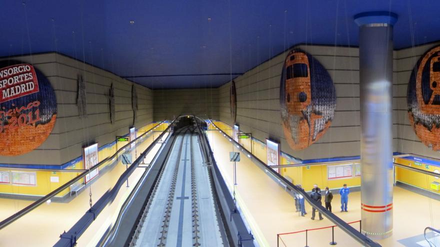 Consorcio de Transportes. Metro Mirasierra