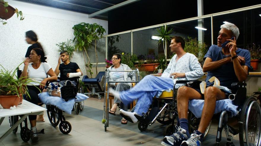 Sala de un centro para personas con discapacidad