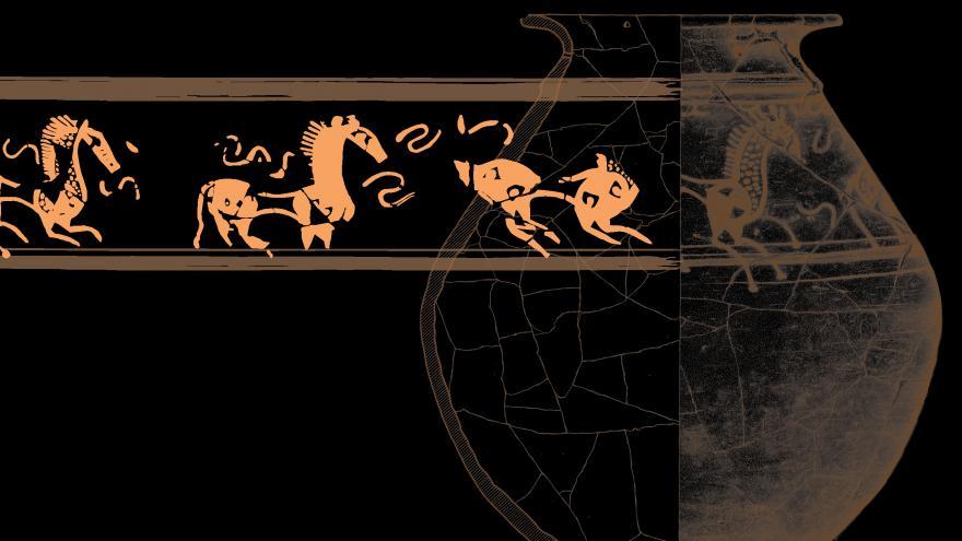 Composición Vaso de los Caballos_MAR