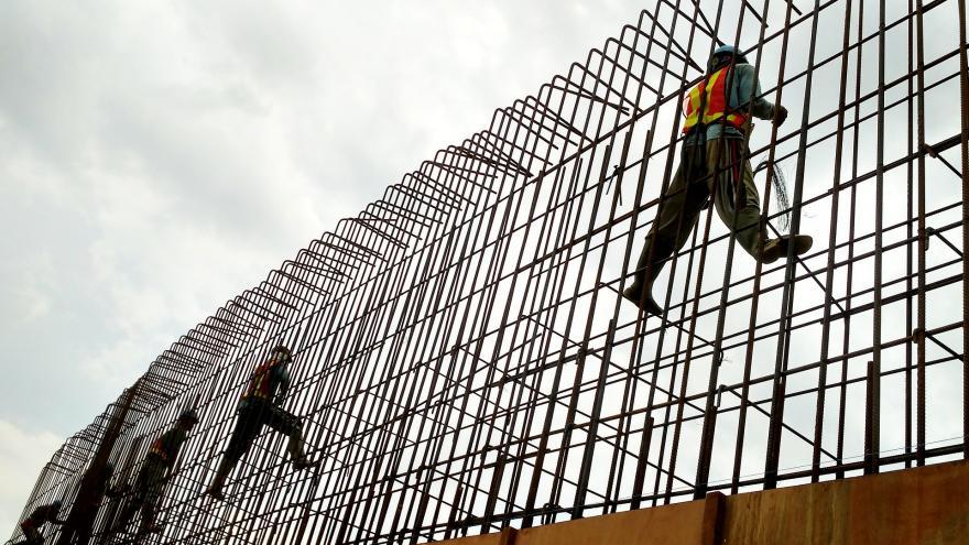Imagen de ferrallistas trabajando en una obra