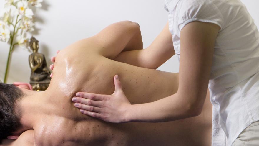 Espalda y brazo