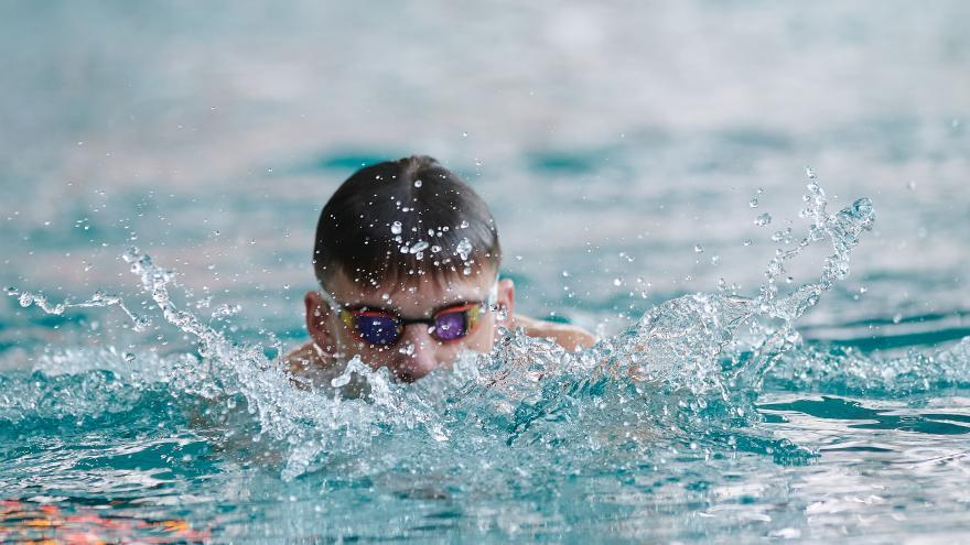 Deportista natación