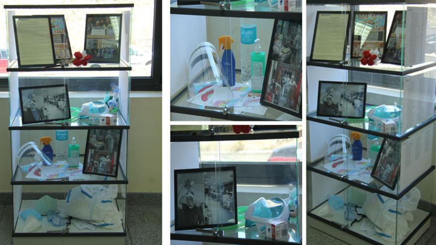 En distintas vistas se contemplan fotos, objetos, escritos y dibujos