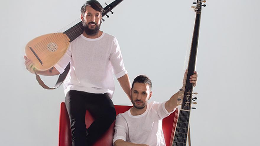 Foto de Pablo Zapico & Daniel Zapico