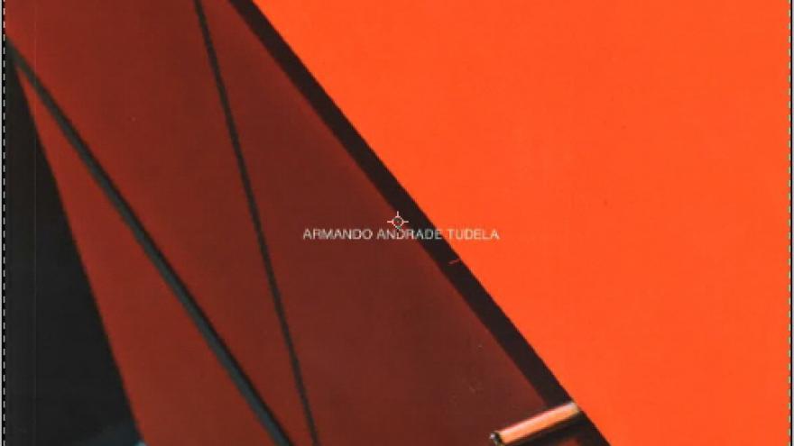 Imagen con fondo naranja y marrón
