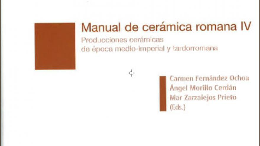 Imagen de un recipiente de cerámica romana