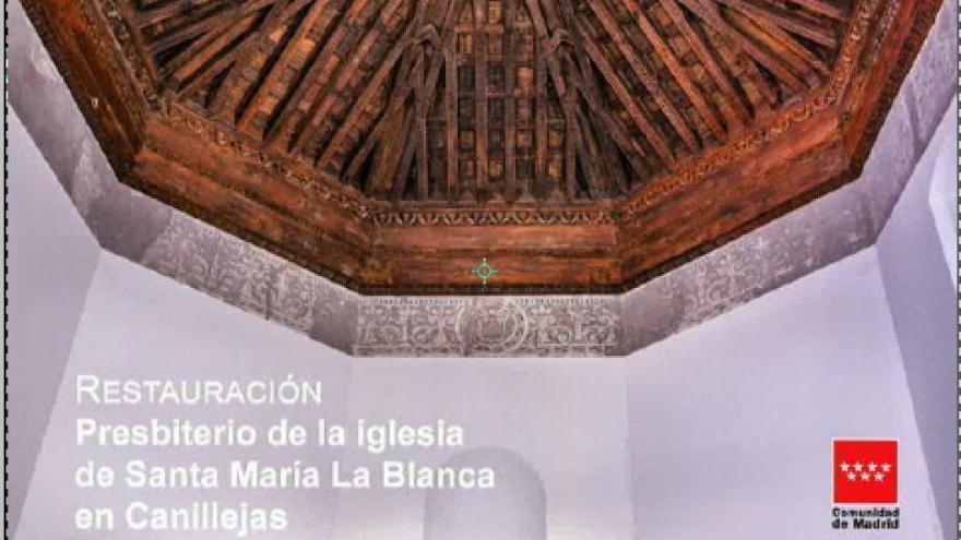 Imagen techo iglesia santa María