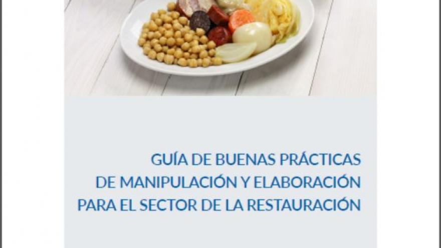 Ref-50096 Guía de buenas prácticas de manipulación y elaboración para el sector de la restauración