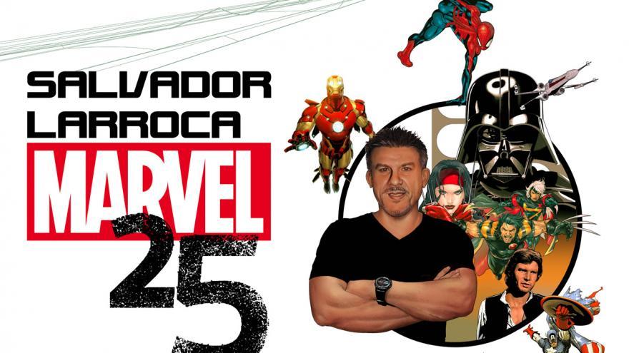 Cartel exposición Salvador Larroca
