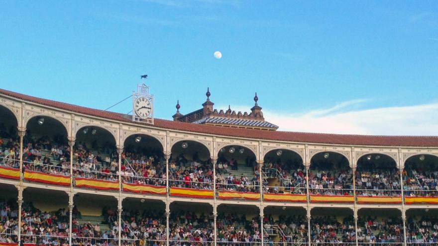 Andanadas y gradas de Las Ventas