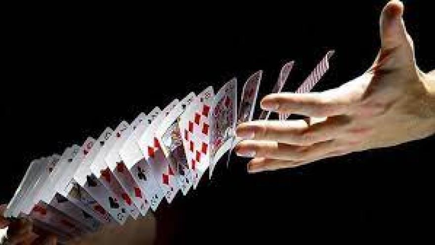 truco de magia con una chistera