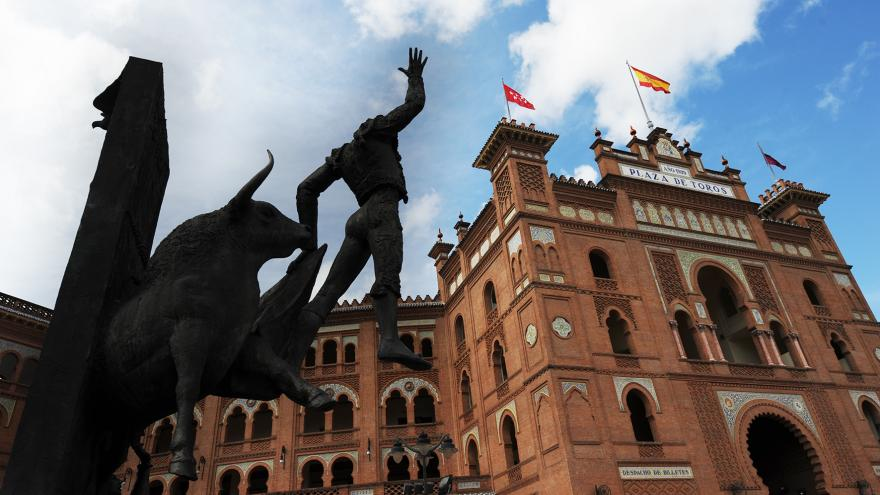 Fachada de Las Ventas