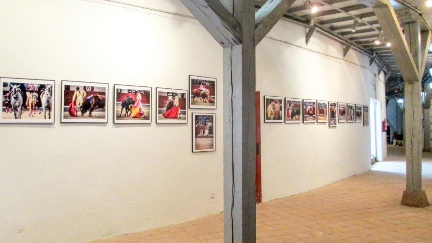 Exposición taurina en Aranjuez