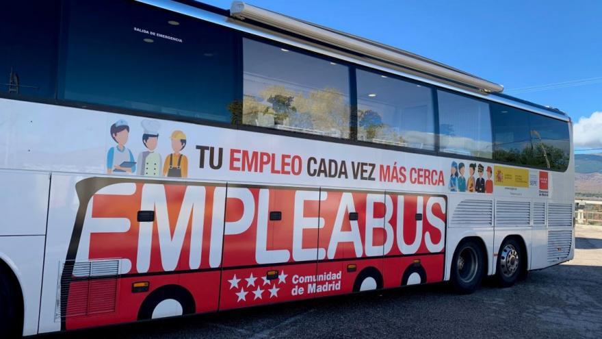 Fotografía del autobús de empleo: Empleabús
