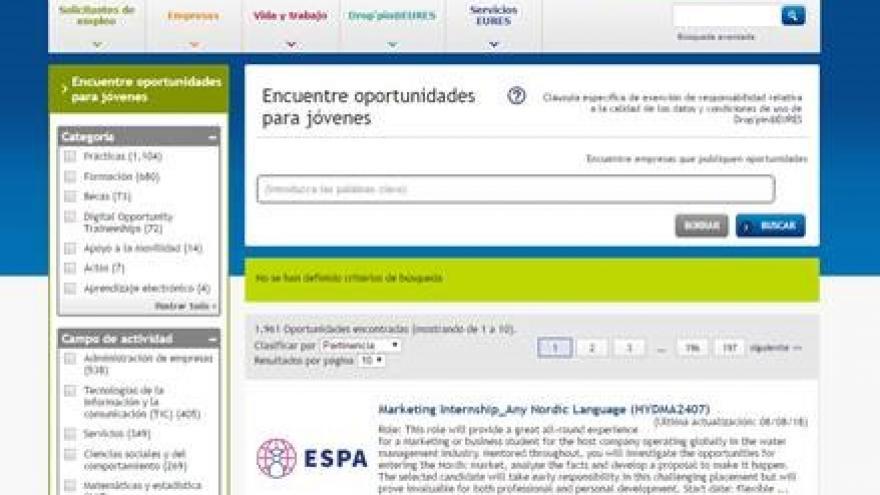 Imagen de una barra de búsqueda en Internet