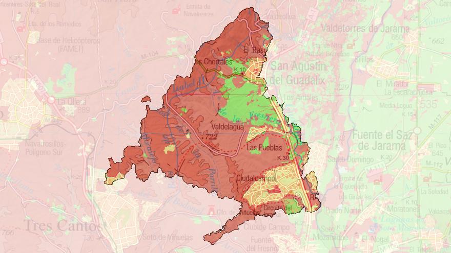 Visor de mapas de Protección Civil