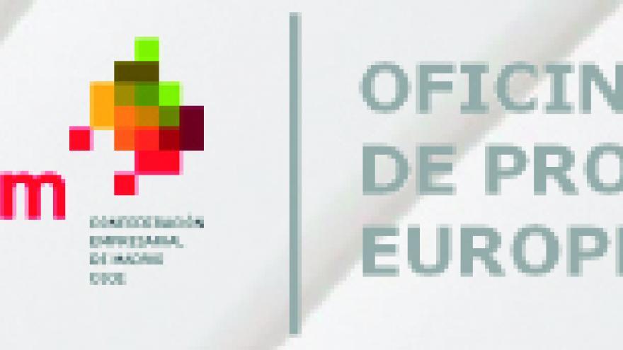 Logos de la Comunidad de Madrid y de la Oficina Técnica de Proyectos Europeos de la CEIM