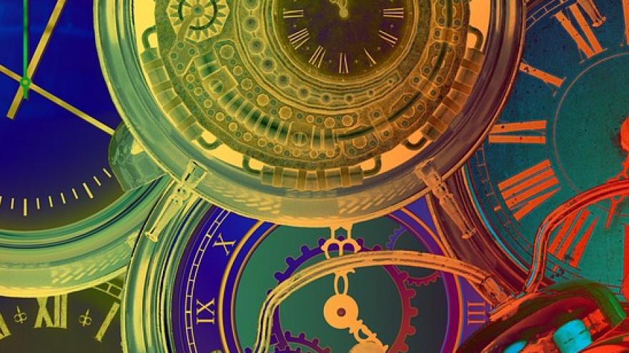 Imagen de relojes deformados