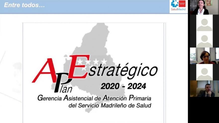 Portada del Plan Estratégico de Atención Primaria 2021