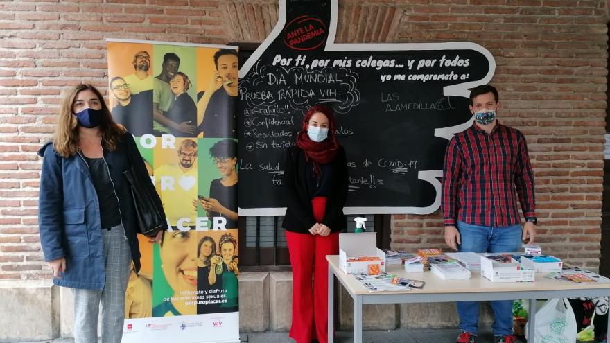Actos de concienciación en Alcalá de Henares con Salud Pública
