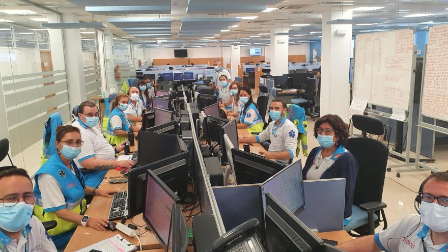 Imagen del Centro Coordinador del SUMMA 112
