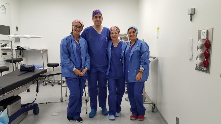 La Unidad de cirugía mínimamente invasiva en patología de mano cumple un año