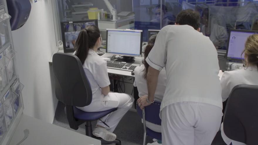 Profesionales de la Fundación de Investigación Biomédica del Hospital de La Princesa