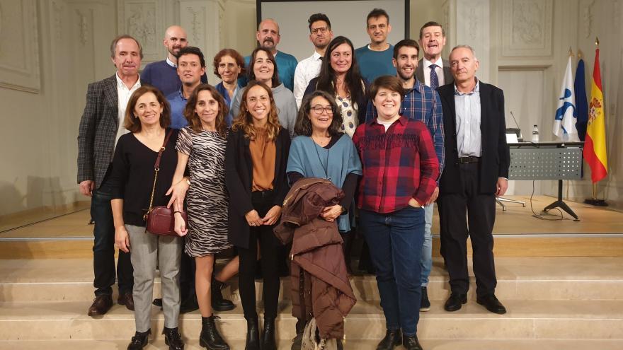 Participantes de la Jornada de Investigación