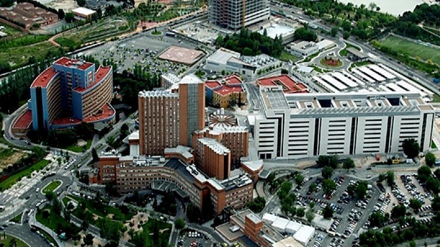 Vista aérea del Hospital 12 de Octubre
