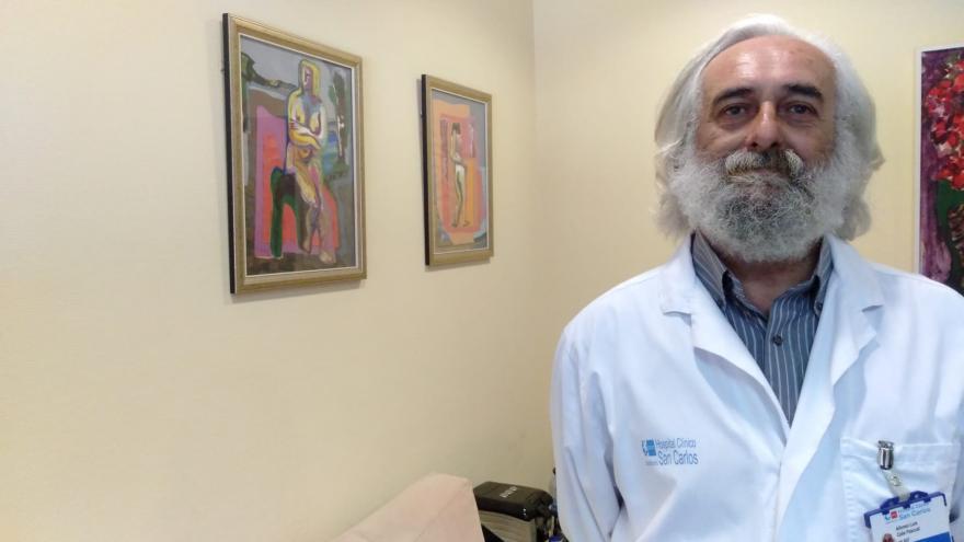 Alfonso Calle, jefe del Servicio de Endocrinología del Hospital Clínico San Carlos