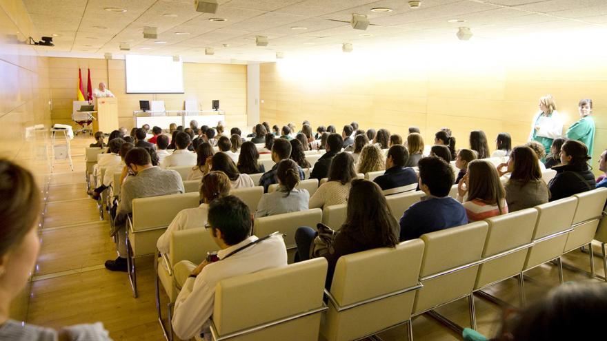 Salón de actos del Hospital Materno-Infantil Gregorio Marañón
