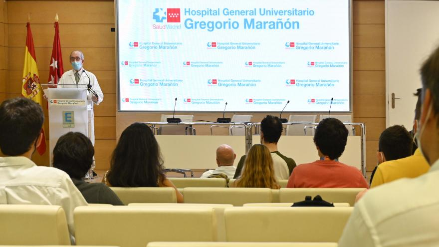 Acto de bienvenida a los nuevos residentes del Hospital Gregorio Marañón